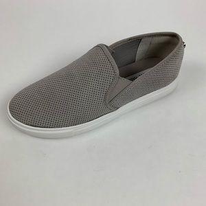 Women's Light Gray Steve Madden Slip On Sneakers
